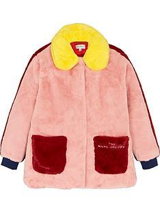 the-marc-jacob-girls-faux-fur-coat-pink