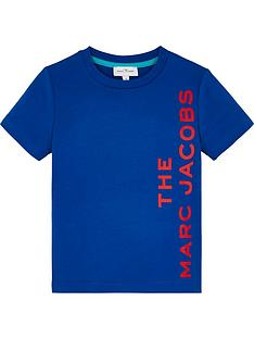 the-marc-jacob-boys-short-sleeve-logo-t-shirt-blue