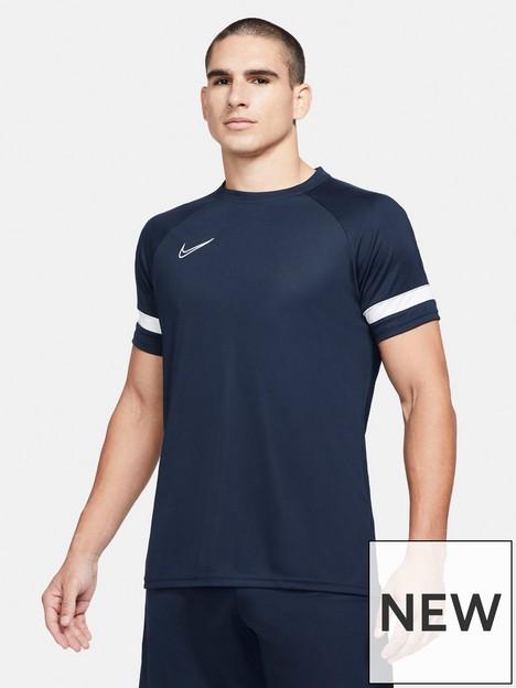 nike-academy-21-dry-t-shirt-navywhite