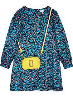 the-marc-jacob-girls-leopard-woven-trompe-loeil-dress--nbspbluemultinbsp
