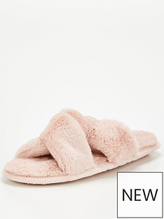 v-by-very-vice-faux-fur-slider-slipper