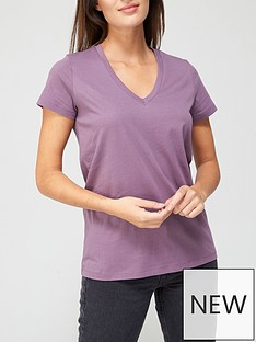 v-by-very-the-basic-v-neck-tee-red