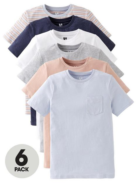 v-by-very-boys-6-pack-short-sleeve-pocket-t-shirts-washed