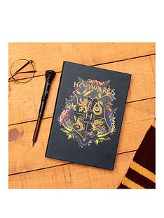 harry-potter-hogwarts-floral-notebook-harry-potter-pen