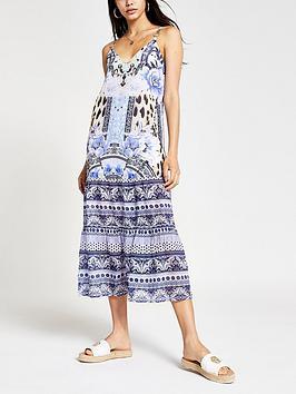 river-island-floral-cami-maxi-beach-dress-blue