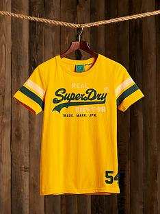superdry-vintage-logo-varsity-t-shirt-yellow