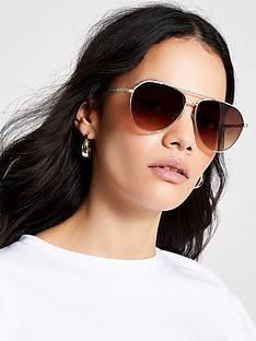 river-island-aviator-sunglasses-gold