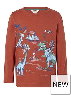 monsoon-boys-dinosaur-scene-t-shirt-red