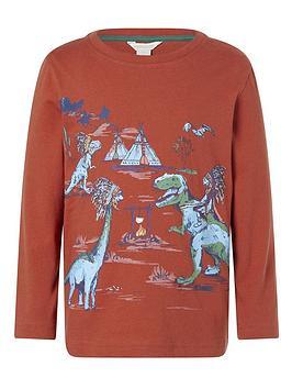 monsoon-boys-dinosaur-scene-t-shirt-red