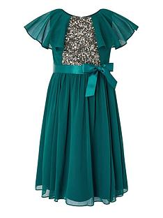 monsoon-girls-sustainable-cape-sequin-dress-teal