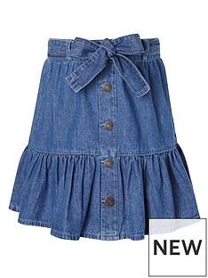 monsoon-girls-denim-frill-skirt-with-belt-blue
