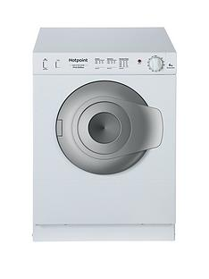 hotpoint-nv4d01p-4kg-load-compact-vented-tumble-dryer-white