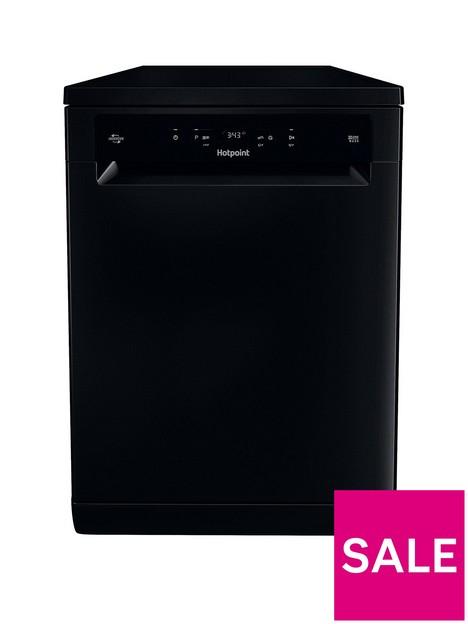 hotpoint-hfc3c26wcbuk-13-place-fullsize-dishwasher-black