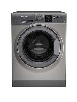 hotpoint-nswm863cggukn-8kg-load-1600-spin-washing-machine-graphite
