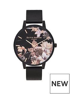 olivia-burton-olivia-burton-shoreditch-black-floral-dial-leather-strap-watch