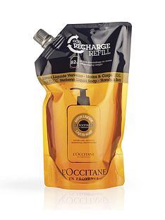 loccitane-shea-verbena-liquid-soap-eco-refill