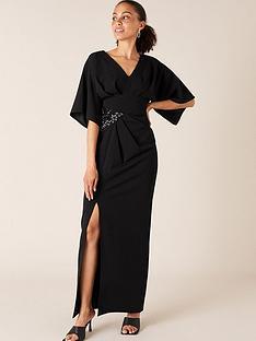 monsoon-kirsty-dolman-trim-maxi-dress-black