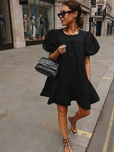 in-the-style-in-the-style-x-lorna-luxenbspexaggerated-puff-sleeve-peplum-hem-mini-dress-black