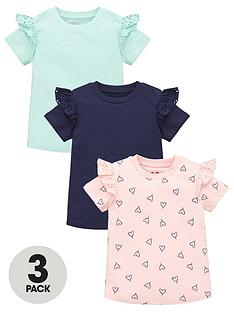 mini-v-by-very-girls-3-pack-heart-short-sleeve-frill-tees-multi