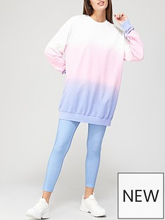 v-by-very-ombre-longline-sweat-andnbsplegging-set-multi