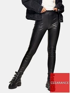 topshop-sara-faux-leather-pu-trousers-black