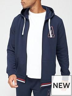 very-man-collegiate-a-zip-through-hoodie-navy