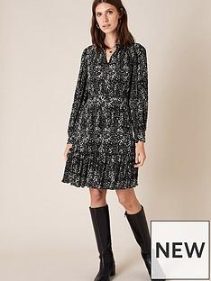 monsoon-monsoon-printed-plisse-tiered-short-dress