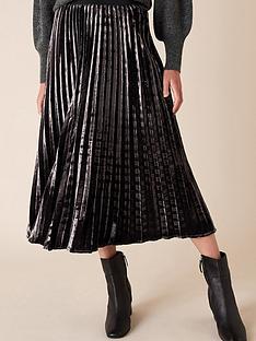 monsoon-velvet-pleated-midi-skirt-purple