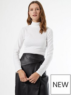 dorothy-perkins-organic-roll-neck-top-whitebr-nbsp