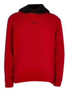 river-island-boys-river-hoodie-red