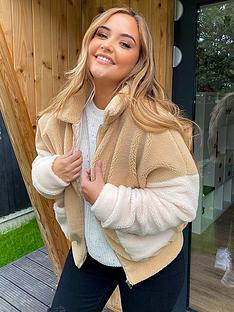 in-the-style-in-the-style-x-jac-jossanbspteddy-faux-fur-bomber-jacket-stone