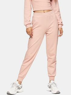 topshop-shirred-waist-joggers--nbsppink