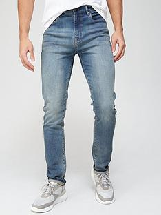 very-man-skinny-vintage-jeansnbspwith-stretch-green-tint