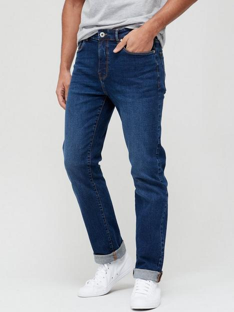 very-man-straight-jeans-with-stretchnbsp--mid-wash