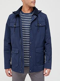 very-man-hooded-cord-collar-jacket-navy
