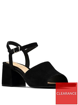 clarks-sheer65-suede-block-heeled-sandal-black