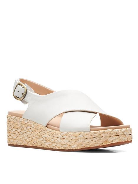 clarks-kimmei-cross-leather-wedge-sandal--nbspwhite