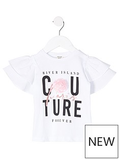 river-island-mini-girls-printed-couture-frill-sleeve-t-shirt-white