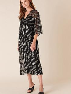monsoon-perpetua-sequin-twist-dress-black