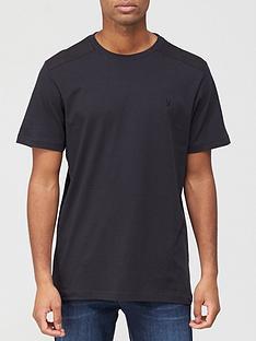 very-man-twill-shoulder-patch-t-shirt-navy