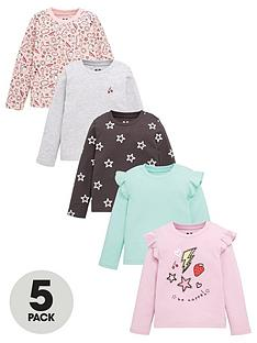 mini-v-by-very-girls-5-pack-graffiti-long-sleeve-frill-tops-multi