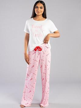 boux-avenue-sweet-as-candy-tee-and-pant-pj-set-pink