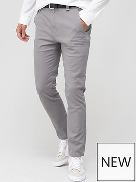very-man-belted-cargo-trouser-grey