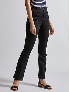 dorothy-perkins-regular-lengthnbspellis-bootcut-jeansnbsp--black