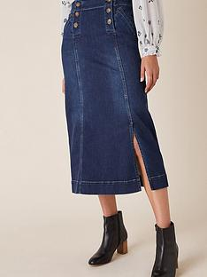 monsoon-denim-midi-skirt-blue