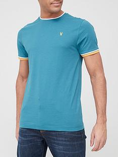 very-man-tipped-t-shirt-tealnbsp
