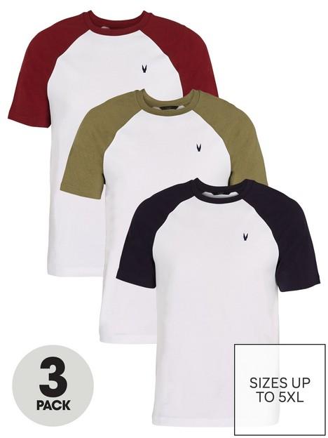 very-man-3-pack-raglan-t-shirt-multi