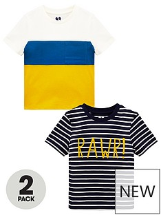 mini-v-by-very-boys-2-pack-raw-t-shirts-multi