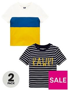 mini-v-by-very-boys-2-pack-raw-t-shirts-multi