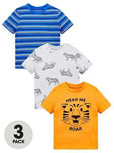 mini-v-by-very-boys-3-pack-tiger-t-shirts-multi